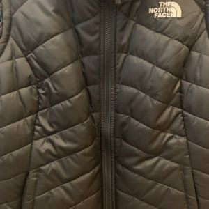The North Face Jackets & Coats - The North Face reversible puffer / fur vest medium